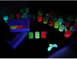 Набор люминесцентных красок для творчества AcmeLight 8 шт - изображение 2 - интернет-магазин tricolor.com.ua