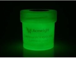 Купить Краска светящаяся AcmeLight для творчества классик свечение зеленое - 18