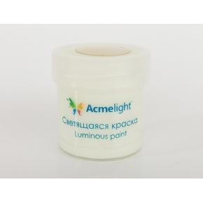 Краска люминесцентная AcmeLight для рисования классик свечение зеленое 20 мл - интернет-магазин tricolor.com.ua