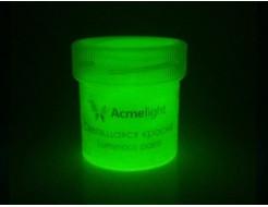 Краска светящаяся AcmeLight для творчества желтая - изображение 2 - интернет-магазин tricolor.com.ua
