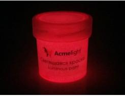 Краска светящаяся AcmeLight для творчества розовая - изображение 2 - интернет-магазин tricolor.com.ua