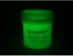 Краска люминесцентная AcmeLight для творчества зеленая - изображение 2 - интернет-магазин tricolor.com.ua