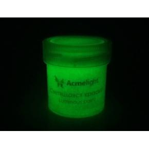 Краска люминесцентная AcmeLight для рисования зеленая 20 мл - изображение 2 - интернет-магазин tricolor.com.ua