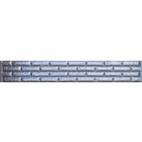 Форма для забора №14 Фагот кирпич АБС BF 30х200 см