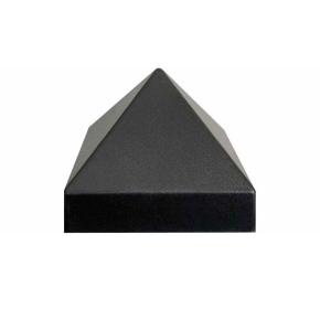 Форма Крышка для столба №14-3 Пирамида 14х14 АБС BF