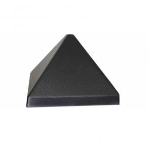 Форма Крышка для столба №16-3 Пирамида 16х16 АБС BF