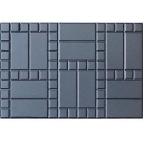 Форма плитки №1 Кирпич с мозайкой 75х50 АБС BF