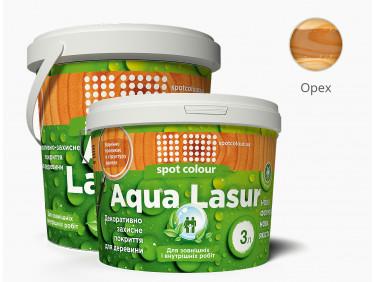 Лазурь для дерева акриловая Spot Colour AquaLasur орех