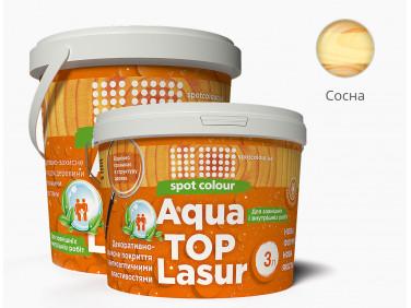 Лазурь для дерева акриловая Spot Colour AquaТорLasur сосна