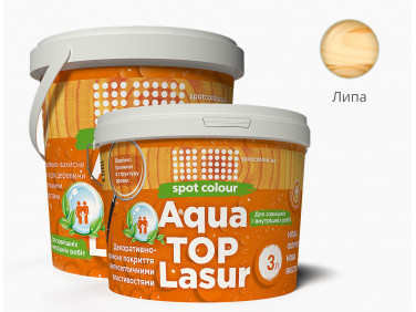 Лазурь для дерева акриловая Spot Colour AquaТорLasur орех