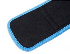 Купить Пояс для тяжелой атлетики Power System PS-3210 голубой XL - 48