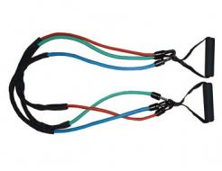 Купить Эспандер трубчатый со съемными ручками Power System PS-4008 - 13