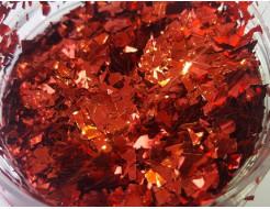Купить Глиттер рваный GLIR/1-5 мм красный Tricolor - 23