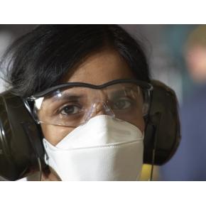 Противоаэрозольный респиратор Aura 9320+ (уровень защиты FFP2) - изображение 2 - интернет-магазин tricolor.com.ua