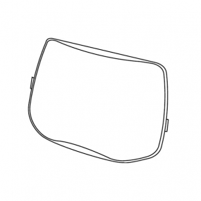 Линза защитная внешняя Speedglas 3M 527070 для 9100 стойкая к повышенным температурам - изображение 2 - интернет-магазин tricolor.com.ua