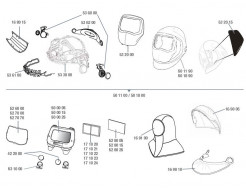 Купить Линза защитная внутренняя Speedglas 3M 528005 для 9100V - 10