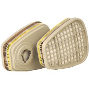 Фильтр 3M 6057 для защиты от органических и неорганических кислых газов и паров пара - интернет-магазин tricolor.com.ua