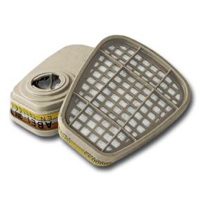 Фильтр 3M 6057 для защиты от органических и неорганических кислых газов и паров пара - изображение 3 - интернет-магазин tricolor.com.ua