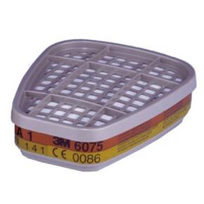 Фильтр для защиты от органических паров и формальдегида 3M 6075 пара (A1+формальдегид) - изображение 2 - интернет-магазин tricolor.com.ua