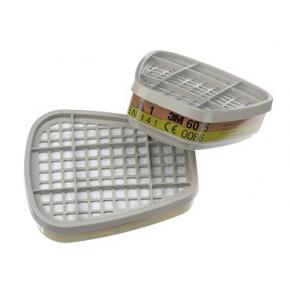 Фильтр для защиты от органических паров и формальдегида 3M 6075 пара (A1+формальдегид) - изображение 3 - интернет-магазин tricolor.com.ua
