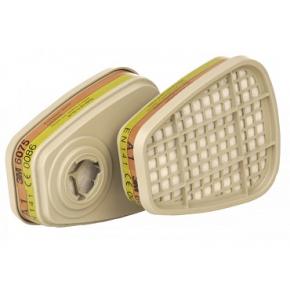 Фильтр для защиты от органических паров и формальдегида 3M 6075 пара (A1+формальдегид) - интернет-магазин tricolor.com.ua