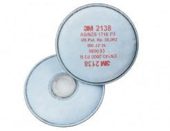Противоаэрозольный фильтр 3M 2138 пара - изображение 2 - интернет-магазин tricolor.com.ua