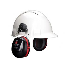Наушники для каски 3М Peltor Optime 3 H540P3E-413-SV красные - изображение 2 - интернет-магазин tricolor.com.ua