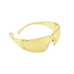 Очки SecureFit 3М SF203AF-EU желтые с защитой от царапин и запотевания - изображение 4 - интернет-магазин tricolor.com.ua