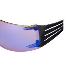 Очки SecureFit 3М SF408AS-EU синие зеркальные AS/AF линза поликарбонатная - изображение 2 - интернет-магазин tricolor.com.ua