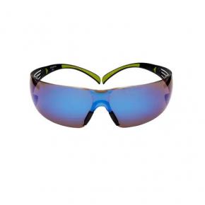 Очки SecureFit 3М SF408AS-EU синие зеркальные AS/AF линза поликарбонатная - изображение 4 - интернет-магазин tricolor.com.ua