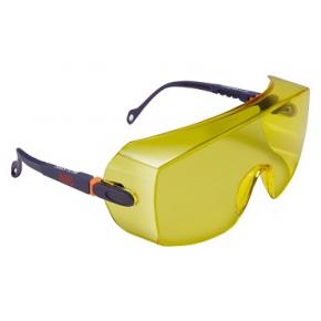 Очки защитные 3М 2802 желтые - изображение 2 - интернет-магазин tricolor.com.ua