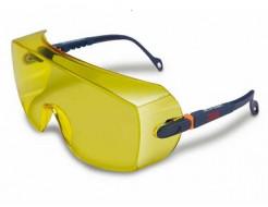 Очки защитные 3М 2802 желтые - изображение 3 - интернет-магазин tricolor.com.ua