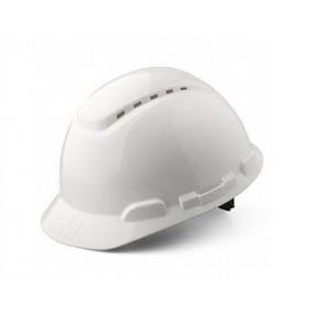 Каска защитная 3М H-700C-VI штифтовая застежка, Белая - изображение 2 - интернет-магазин tricolor.com.ua