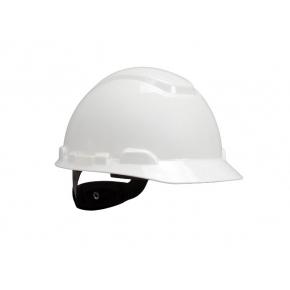 Каска защитная 3М H-700C-VI штифтовая застежка, Белая - интернет-магазин tricolor.com.ua