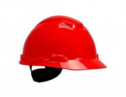 Каска защитная 3М H-701N-RD храповик, Красная
