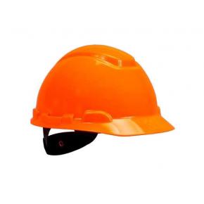 Каска защитная 3М H-701N-OR храповик, Оранжевая