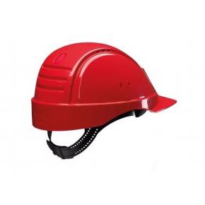 Каска защитная 3М G2000CUV-RD со штифтом, вентилируемая, Красная