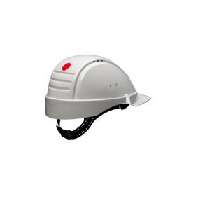 Каска защитная 3М G2001CUV-VI штифтовая застежка, Белая