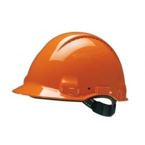 Каска защитная 3М G3000CUV-OR оранжевая