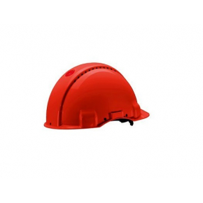 Каска защитная 3М G3000CUV-RD штифтовая застежка, Красная