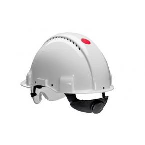 Каска защитная 3М G3000CUV-VI белая - изображение 6 - интернет-магазин tricolor.com.ua