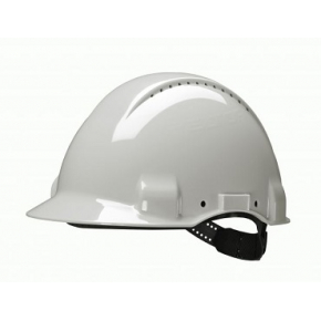 Каска защитная 3М G3000CUV-VI белая - изображение 5 - интернет-магазин tricolor.com.ua