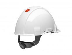 Каска защитная с храповиком 3М G3000NUV-VI белая - изображение 2 - интернет-магазин tricolor.com.ua