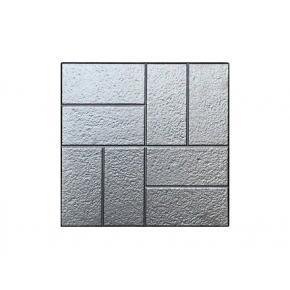 Форма плитки №9 Восемь кирпичей шагрень 30х30 АБС BF