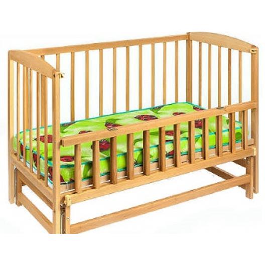 Кровать детская на шарнирах с откидной боковиной на подшипнике 1200х600 - изображение 3 - интернет-магазин tricolor.com.ua