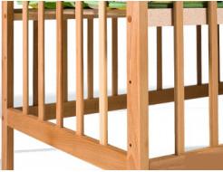 Купить Кроватка детская с дугами 1200х600 - 9