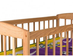 Кроватка детская с дугами 1200х600 - изображение 2 - интернет-магазин tricolor.com.ua