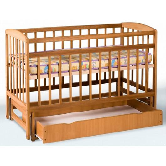 Кровать детская на шарнирах+ящик 1200х600 - интернет-магазин tricolor.com.ua