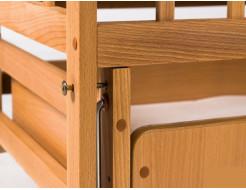 Купить Кровать детская на шарнирах+ящик 1200х600 - 16