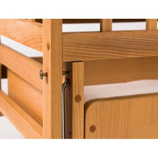 Кровать детская на шарнирах+ящик 1200х600 - изображение 3 - интернет-магазин tricolor.com.ua